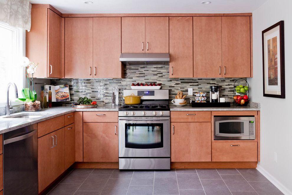 Sensa Granite for a Contemporary Kitchen with a Contemporary and Lowe's Kitchen Giveaway by Rikki Snyder