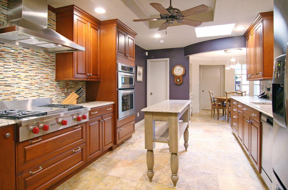 Sensa Granite for a Contemporary Kitchen with a Galley Kitchen and Dallas/ Contemporary by the Kitchen Source