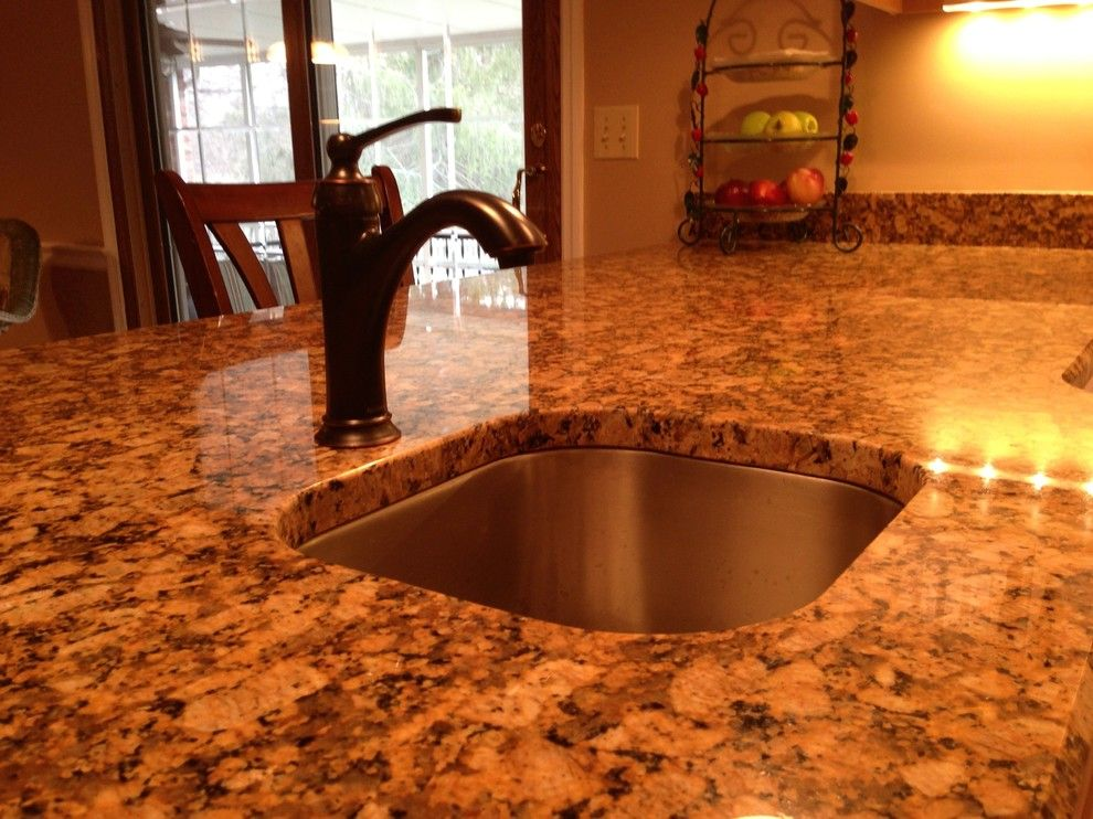 Sensa Granite for a Traditional Kitchen with a Granite and Forever Young by Logan Hanes