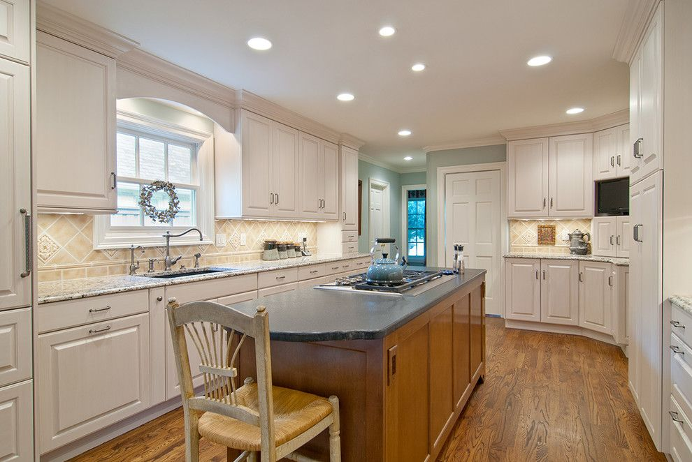Sensa Granite for a Traditional Kitchen with a Kichler Undercabinet Lights and Dallas/ Traditional by the Kitchen Source