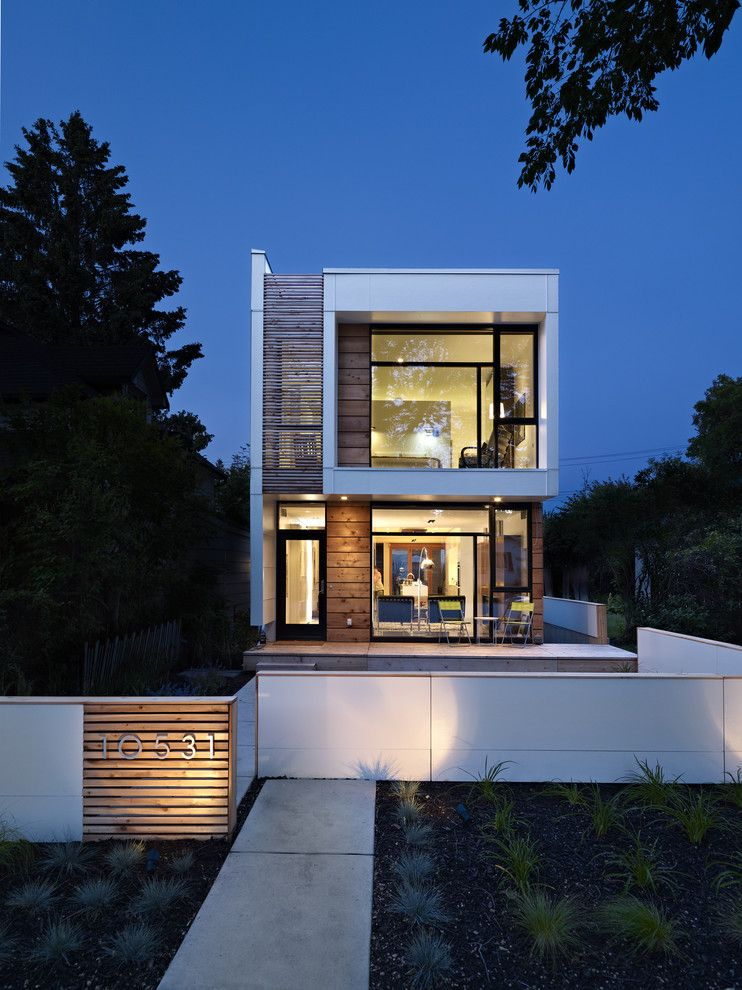 Sepulveda Building Materials for a Modern Exterior with a White and Lg House   Exterior by Thirdstone Inc. [^]