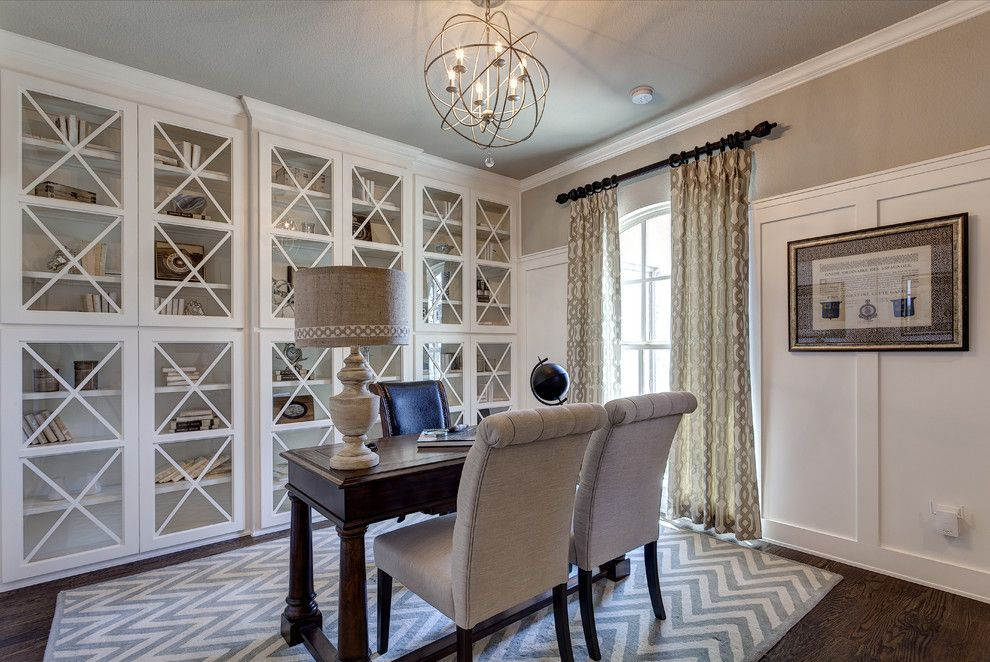 Shaddock Homes for a Traditional Home Office with a Area Rugs and Light Farms | Shaddock Homes by Shaddock Homes