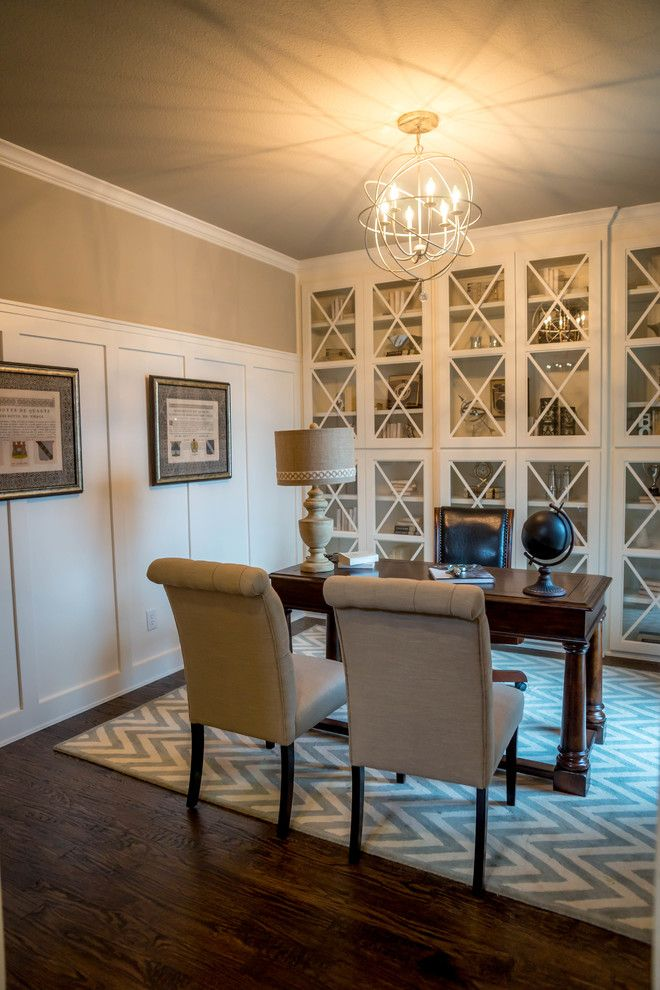 Shaddock Homes for a Traditional Home Office with a Traditional and Light Farms | Shaddock Homes by Shaddock Homes