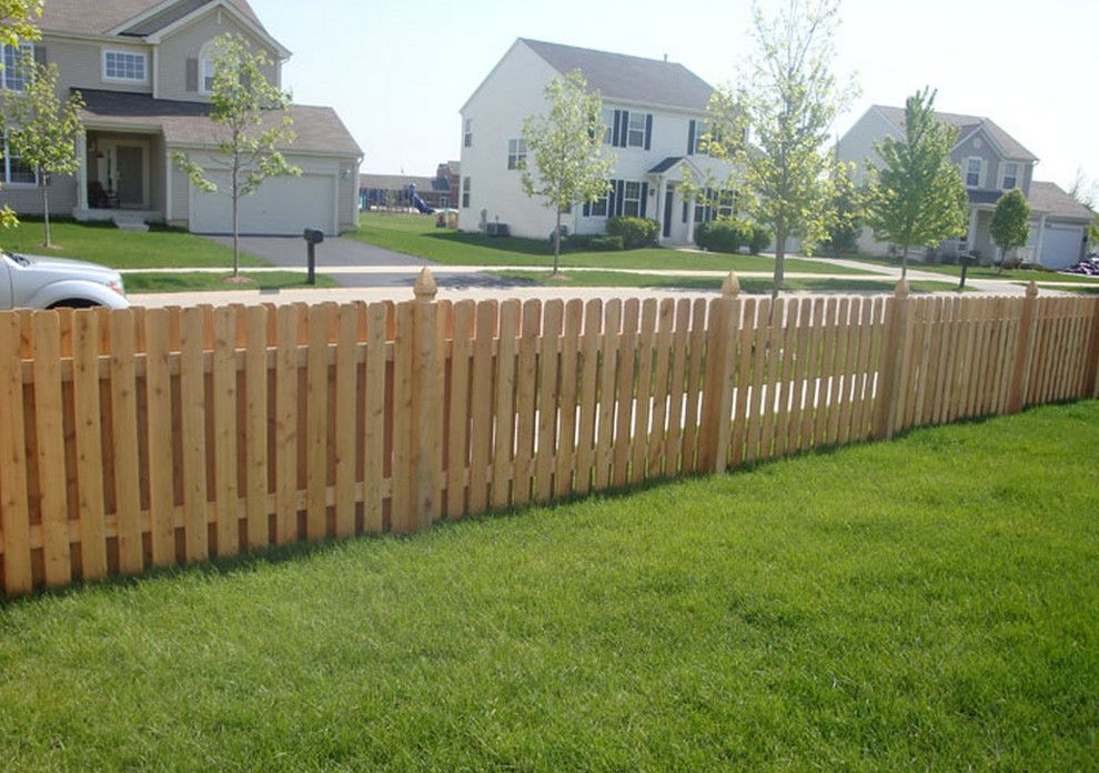 Shadow Box Fence for a  Spaces with a  and Shadow Box Fences by Classic Fence Inc.
