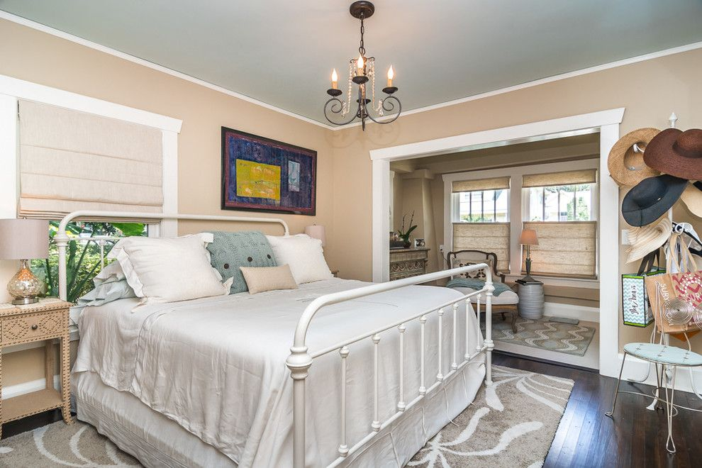 Shaker Beige for a Traditional Bedroom with a Traditional and 7th Heaven by E+D Architecture and Design, Pl