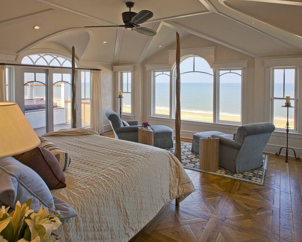 Shea Homes Az for a Beach Style Bedroom with a Chaise Longue and New Construction   Bethany Beach, Del. by Dewson Construction Company