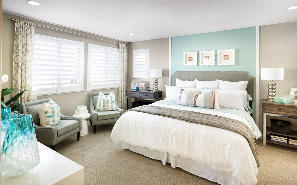 Shea Homes Az for a Transitional Bedroom with a Interior Design and Spaces at Reunion by Shea Homes Colorado