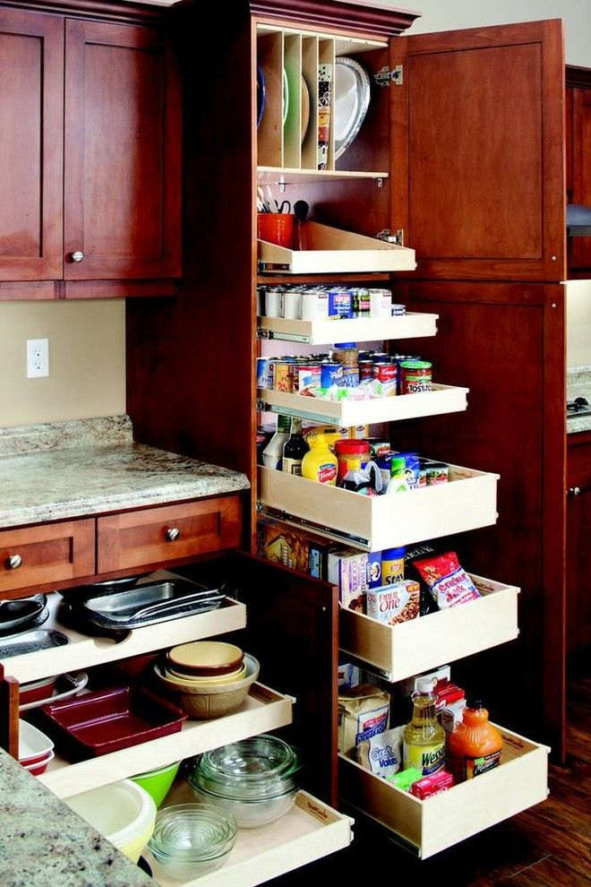 Shelf Genie for a Contemporary Spaces with a Pantry Shelving and Shelfgenie Pantry Pull Out Shelves by Shelfgenie of Austin