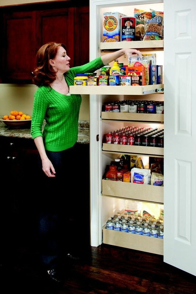 Shelf Genie for a  Spaces with a Cabinet Organization and Shelfgenie Pantry Roll Out Shelves by Shelfgenie of Fort Lauderdale