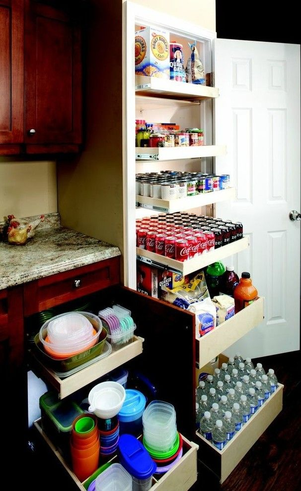 Shelf Genie for a  Spaces with a Shelving Systems and Shelfgenie Pantry Roll Out Shelves by Shelfgenie of Oklahoma