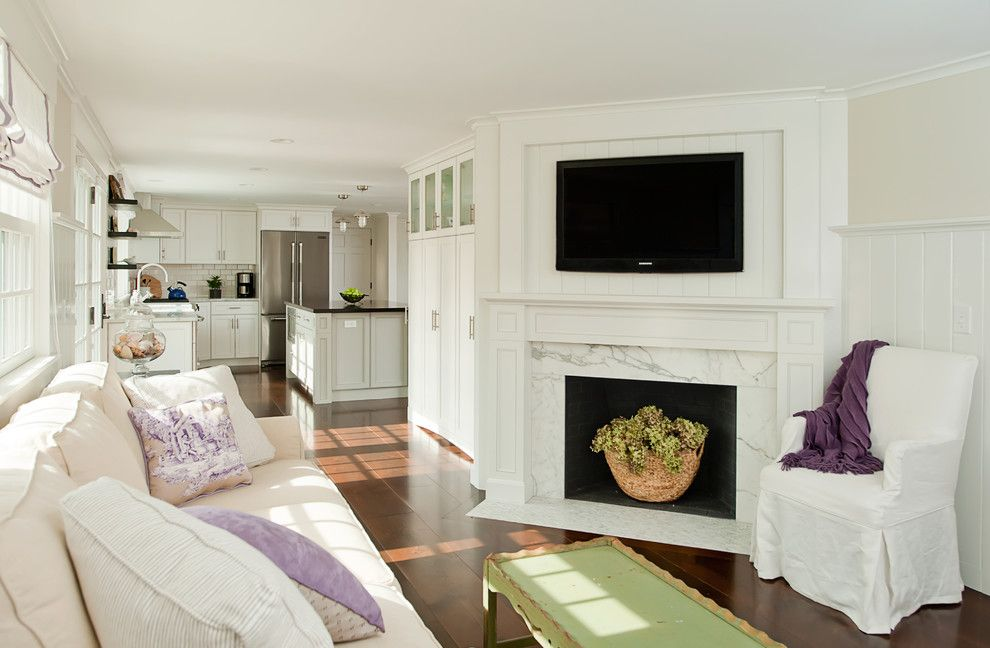 Shell Lumber for a Contemporary Kitchen with a Purple Pillows and Kitchen Remodel, Dennis, Ma by Kitchen Views at National Lumber
