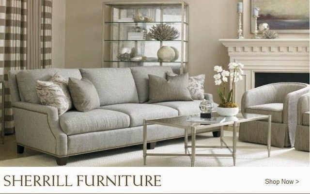 Sherrill Furniture for a  Living Room with a Sherrill Furniture and Sherrill Furniture by Lenoir Empire Furniture