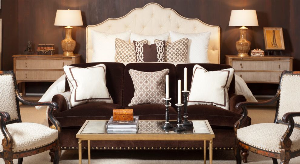 Sherrill Furniture for a Transitional Bedroom with a Decorative Accents and Sherrill Furniture (Vendor) by Good's Home Furnishings