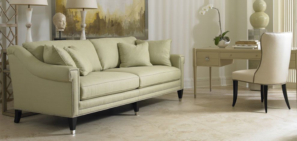 Sherrill Furniture for a Transitional Living Room with a Warm and Sherrill Furniture Living Rooms by Louisiana Furniture Gallery