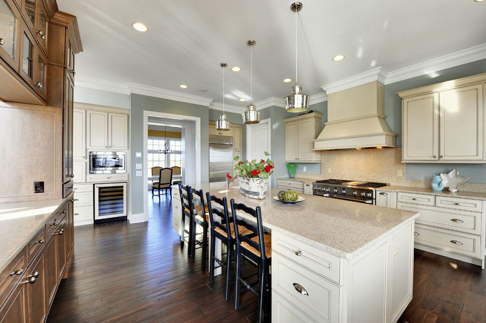 Sherwin Williams Cabinet Paint for a Contemporary Kitchen with a White Kitchen and Kitchen by Echelon Custom Homes