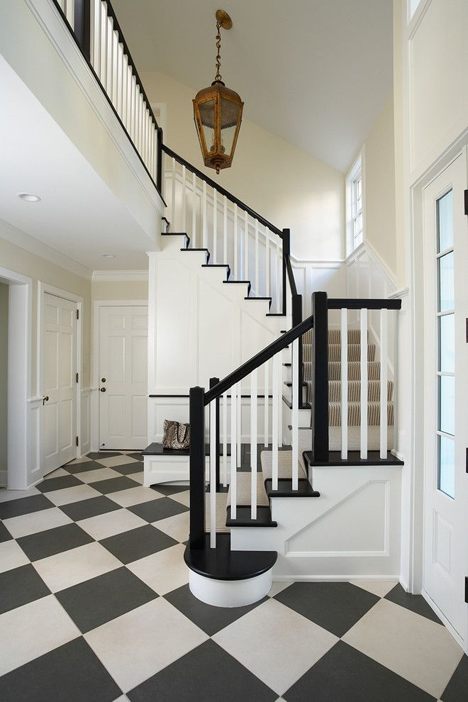 Sherwin Williams Dover White for a Traditional Entry with a White Wood and Minnesota Private Residence by Cook Architectural Design Studio