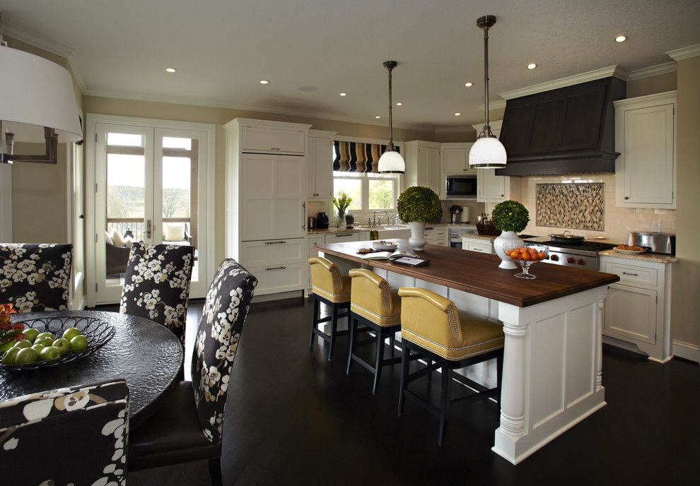 Sherwin Williams Softer Tan for a Contemporary Kitchen with a Chandelier and Chanhassen Residence   Kitchen by Vivid Interior Design   Danielle Loven