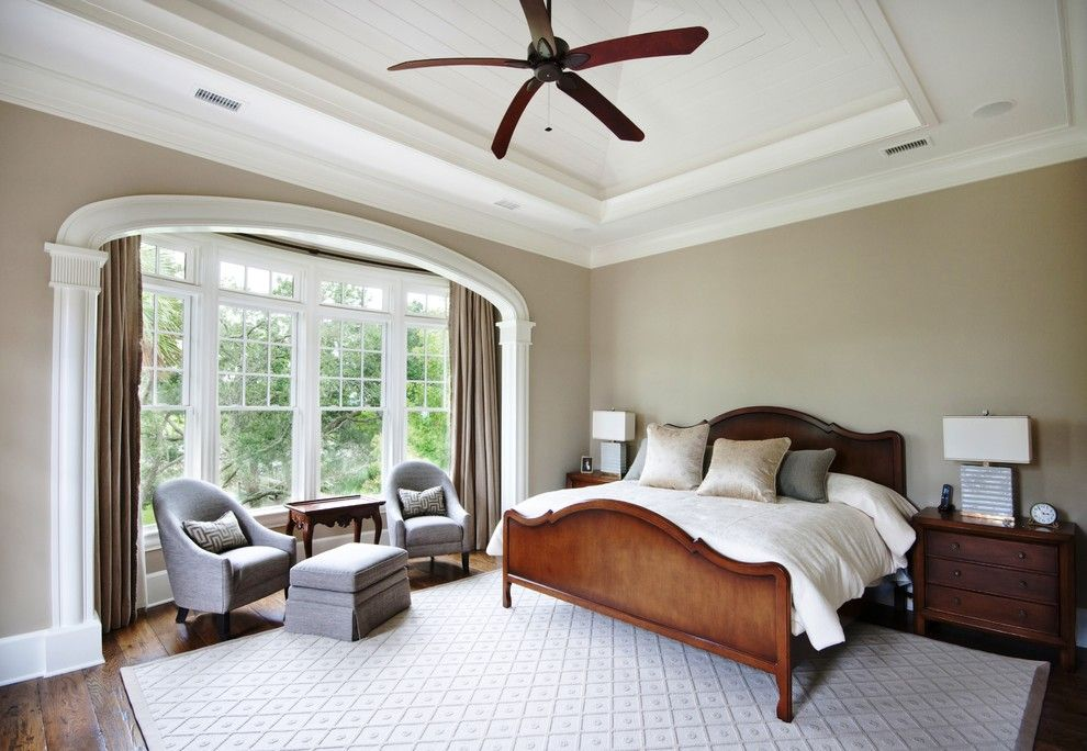 Sherwin Williams Softer Tan for a Traditional Bedroom with a Bedroom and Bedroom by Phillip W Smith General Contractor, Inc.