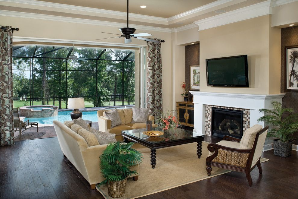 Sherwin Williams Softer Tan for a Traditional Living Room with a Arthur Rutenberg Homes and Amelia 1124 by Arthur Rutenberg Homes