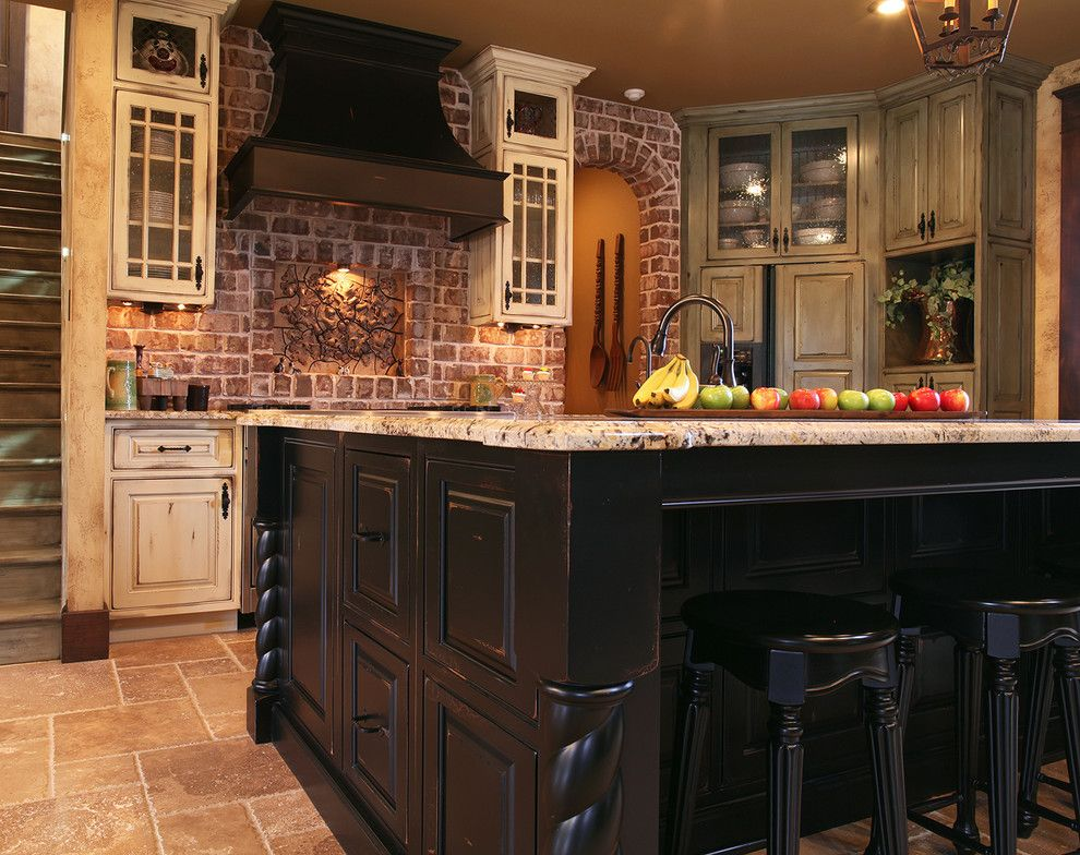 Shiloh Cabinetry For A Traditional Kitchen With A