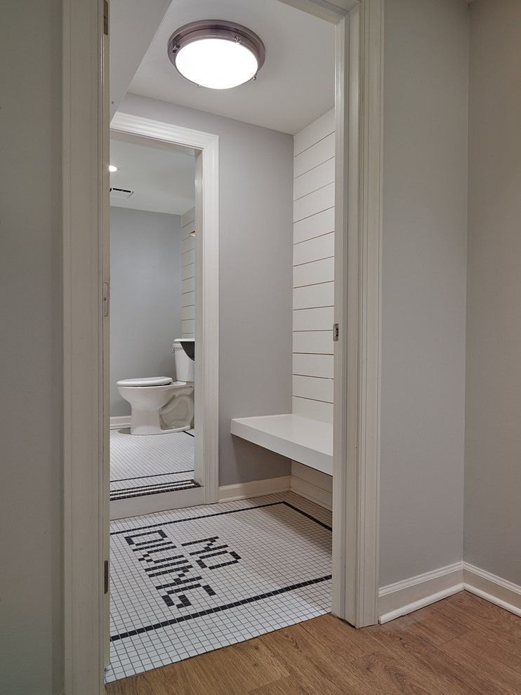 Shophouse for a Beach Style Bathroom with a Fun Tile and Penn Valley by Shophouse