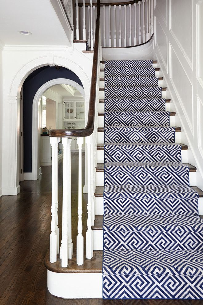 Shophouse for a Traditional Staircase with a Runner and Penn Valley by SHOPHOUSE