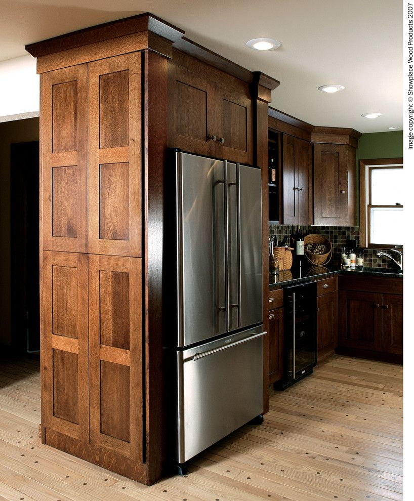 Showplace Wood Products for a Traditional Kitchen with a Glazing and Showplace Cabinets   Kitchen by Showplace Wood Products