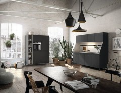 Siematic for a Industrial Kitchen with a Herb Garden and SieMatic Urban Collection by SieMatic UK