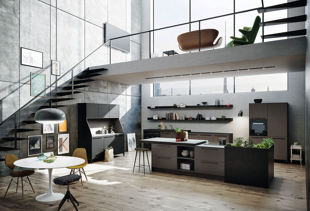 """Siematic for a Modern Spaces with a Siematic Style Collection and Welcome to the """"Urban"""" World of SieMatic by Kitchen Gallery SieMatic"""