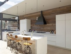 Silestone for a Contemporary Kitchen with a Rooflight and House in Dublin 4 by Optimise Design