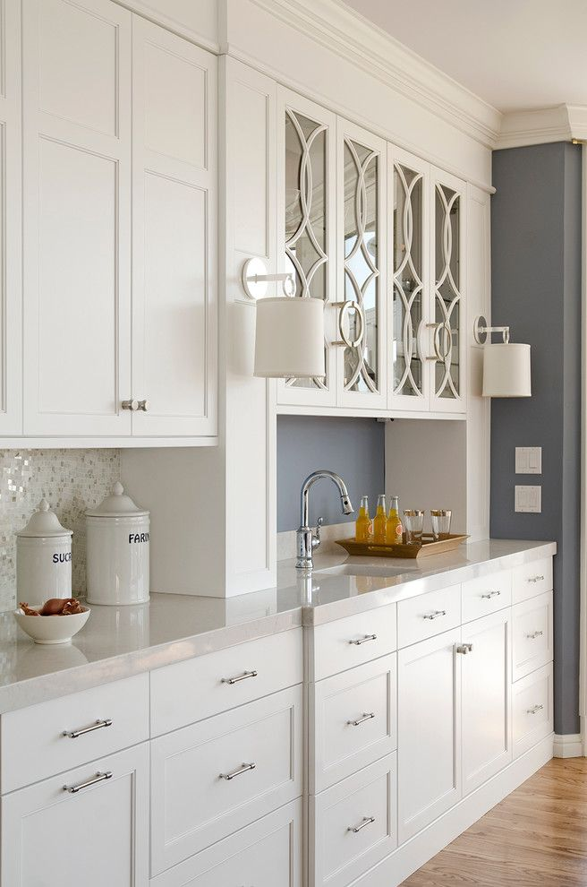 Silestone Quartz for a Contemporary Kitchen with a Blue and White Kitchen and Cobalt Blue and White Reno by Kitchen Cove Cabinetry & Design