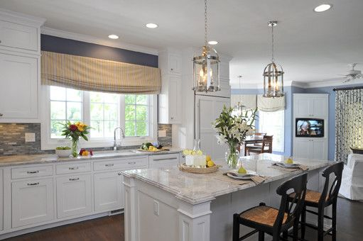 Silestone vs Granite for a Traditional Kitchen with a Glass Front Cabinets and Kitchen 11084 by J.s. Brown & Co.