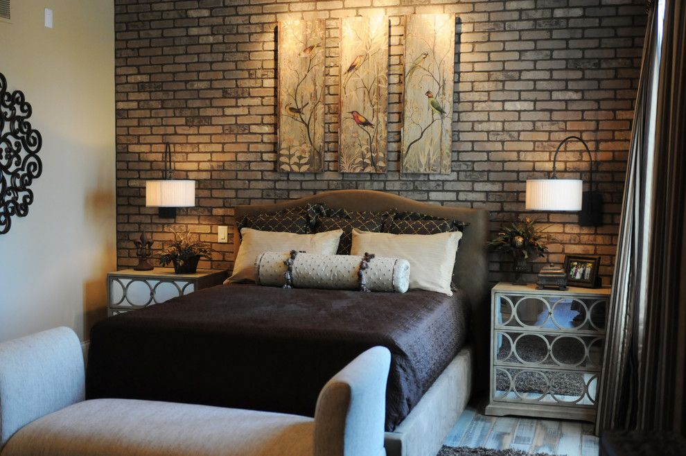 Silverado Building Materials for a Modern Spaces with a Contrast and Accent Wall Using Thin Brick. by Silverado Building Materials
