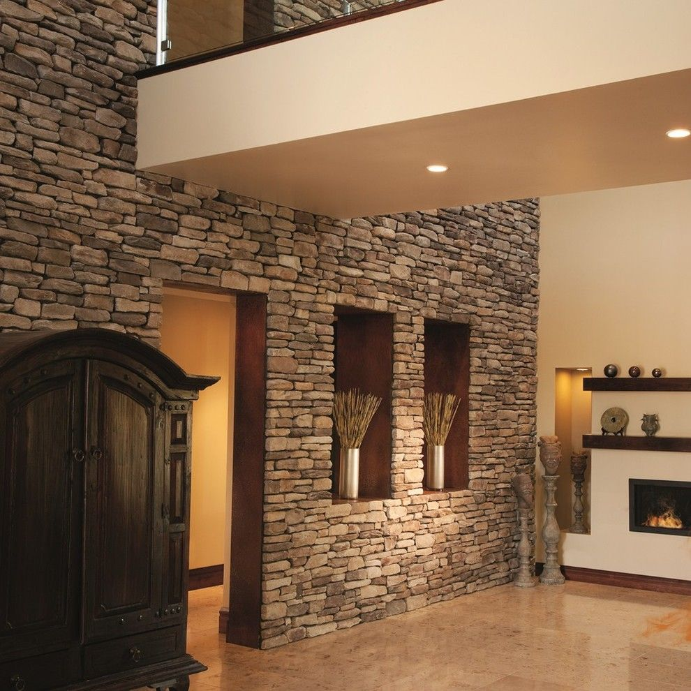 Silverado Building Materials for a  Spaces with a  and Boral Cultured Stone by Silverado Building Materials