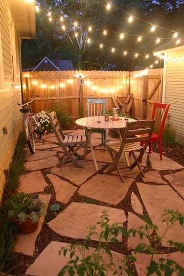 Silverado Building Materials for a  Spaces with a Low Cost and Intimate Backyard Space by Silverado Building Materials