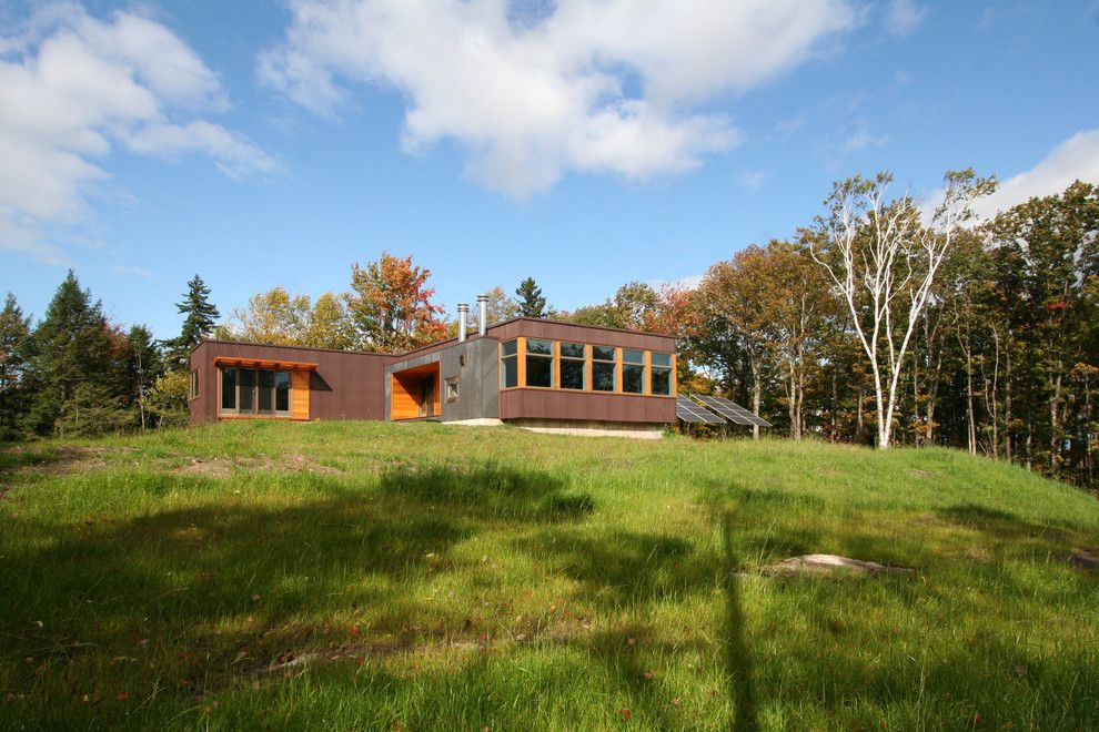 Simplex Homes for a Modern Exterior with a Prefab and Vermont Cabin Exterior by Resolution: 4 Architecture