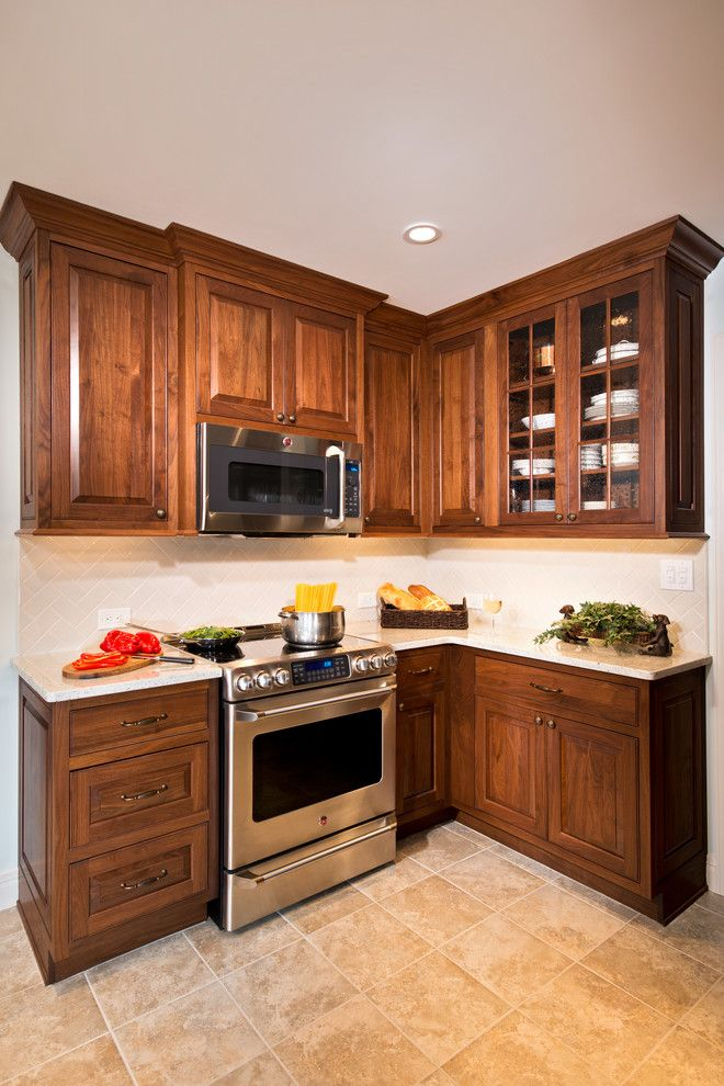 Singing River Electric for a Traditional Spaces with a Electric Cooktop and LOUDONVILLE NY KITCHEN REMODEL by Bellamy Construction