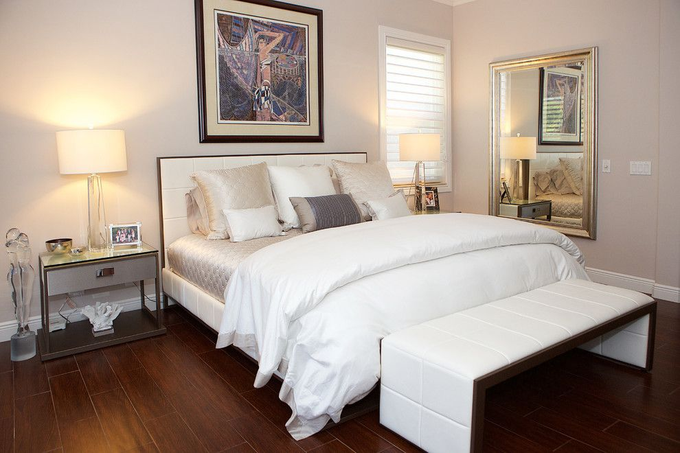 Sklar Furniture for a Contemporary Bedroom with a Home Office Furniture and Kay - Client S by Sklar Furnishings