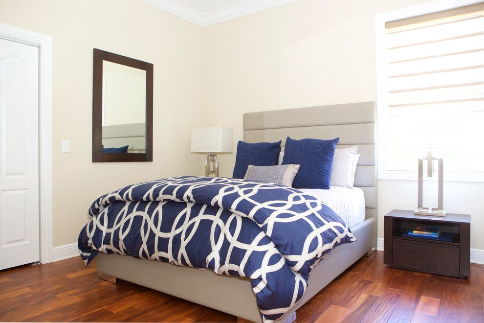Sklar Furniture for a Contemporary Bedroom with a Interior Design Details and Kay   Client S by Sklar Furnishings
