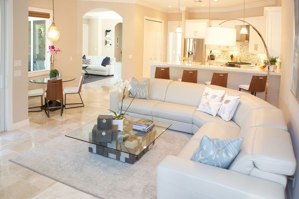 Sklar Furniture for a Contemporary Family Room with a Master Bedroom and Kay   Client S by Sklar Furnishings