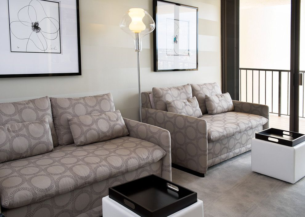 Sklar Furniture for a Contemporary Family Room with a Sleeper Sofa and Lori Client C by Sklar Furnishings
