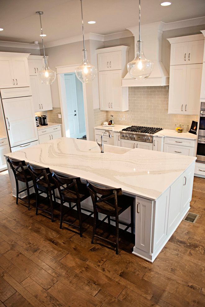 Smokey Mountain Tops for a Transitional Kitchen with a Countertops and Brittanicca Beauty by Smokey Mountain Tops