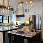 Soapstone for a Farmhouse Kitchen with a Pendant Lighting and Lake Home by a Perfect Placement