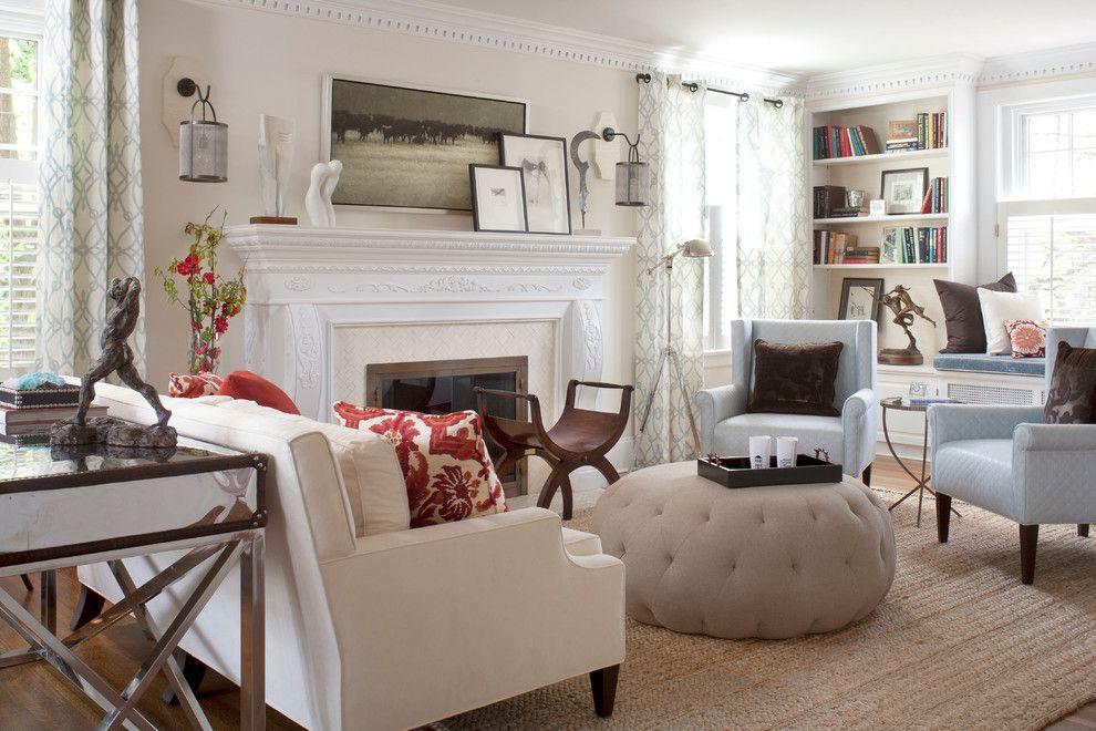 Sofa Mart Denver for a Contemporary Living Room with a Armchair and Denver Country Club Home by Andrea Schumacher Interiors