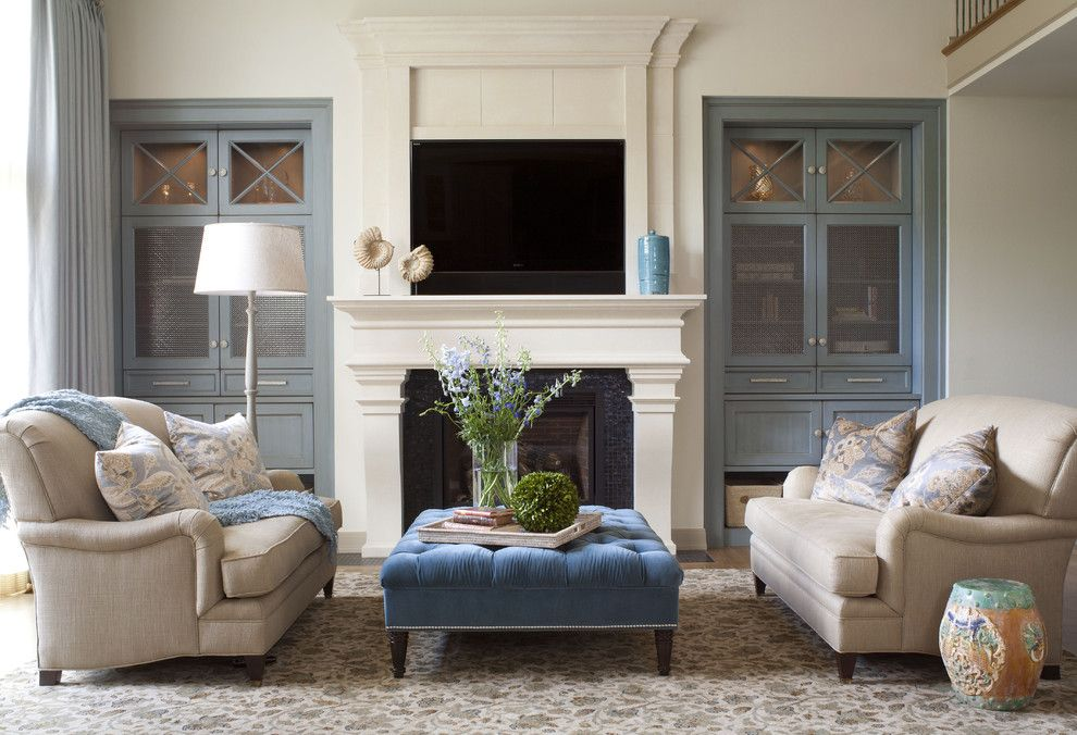 Sofa Mart Denver For A Transitional Living Room With Ceramic Stool And Cherry Hills Remodel