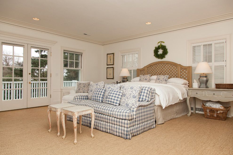 Sofa Mart for a Traditional Bedroom with a Wreath and Gretchen by Whitney Lyons