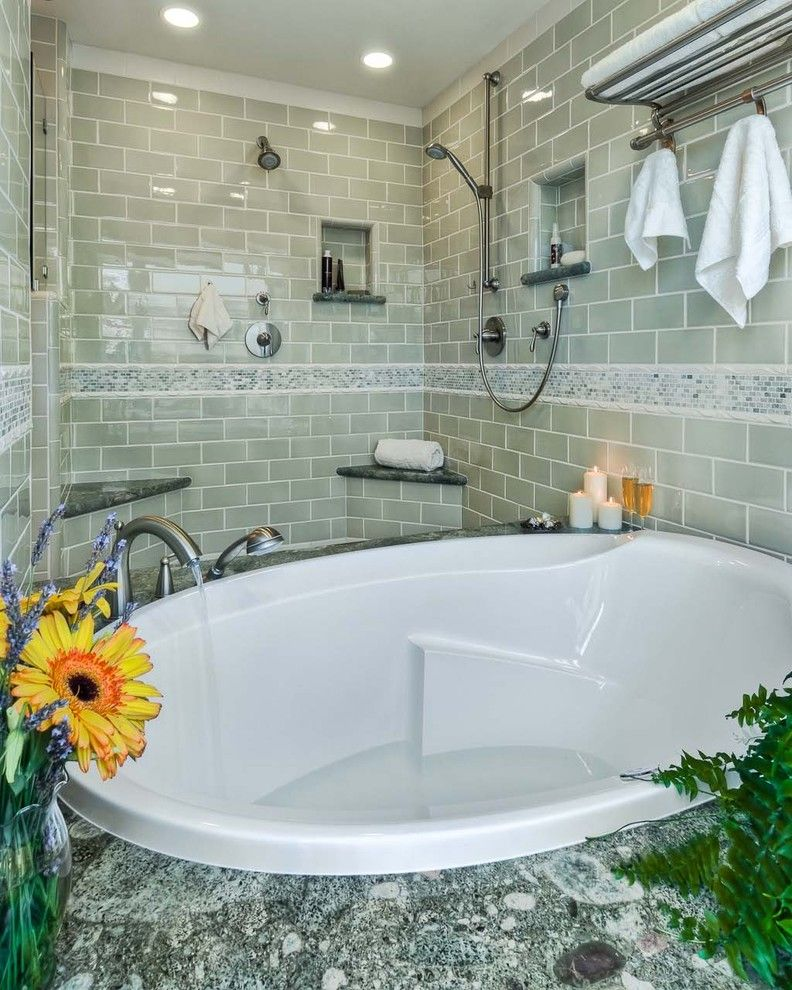 Sonoma Tile for a Contemporary Bathroom with a Nice and Dzignit, Patrice Greene by Dzignit, Patrice Greene