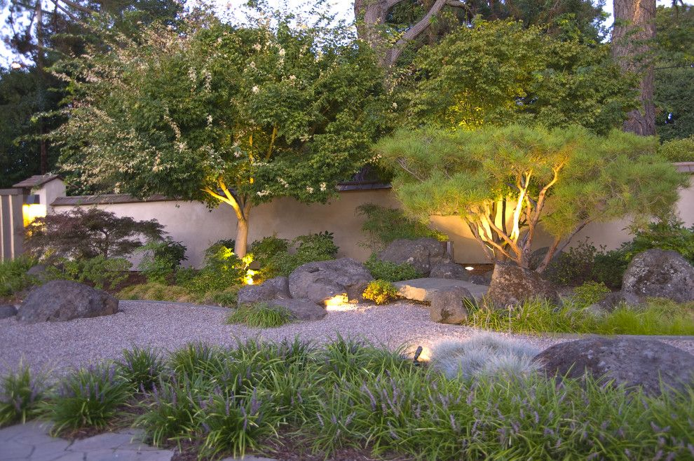 Southern Lights Mn for a Asian Landscape with a Walkway and Atherton Japanese Garden by Kikuchi + Kankel Design Group