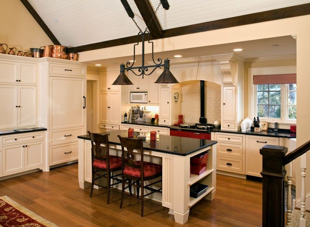Southern Lights Mn for a Traditional Kitchen with a Recessed Lighting and Kitchen by John Kraemer & Sons
