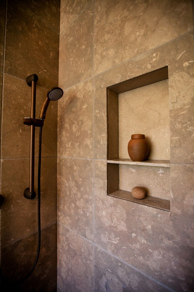Spenard Builders Supply for a Eclectic Spaces with a Rohl Shower and Asian Influenced Timber Frame with Arts and Elements by Ironwood Builders